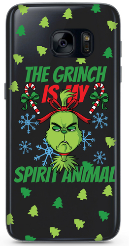 The Grinch Átlátszó Samsung Tok