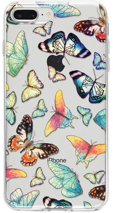 Luxury Butterflies iPhone Tok - TutiTartozék