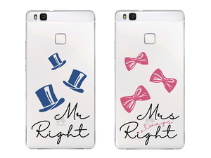 MR. RIGHT/MRS. ALWAYS RIGHT - Páros 2DB Huawei Tok - TutiTartozék