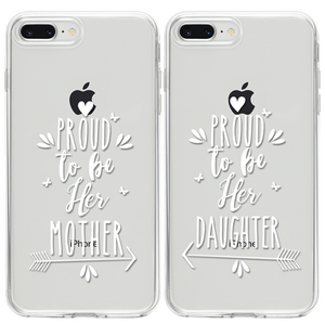 Proud to be Her Mother - Proud to be Her Daughter Páros 2DB iPhone Tok - TutiTartozék