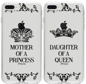 Mother of a Princess - Daughter of a Queen Páros 2DB iPhone Tok