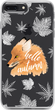 Fox Autumn Átlátszó iPhone Tok