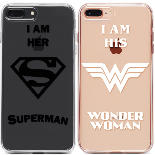 Superman Wonder Woman Páros 2DB iPhone Tok