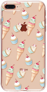 Ice cream - Cupcake iPhone Tok - TutiTartozék