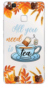 All you need is tea Átlátszó Huawei Tok - TutiTartozék