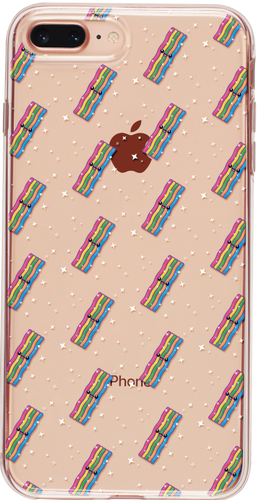 Unicorn Bacon iPhone Tok - TutiTartozék