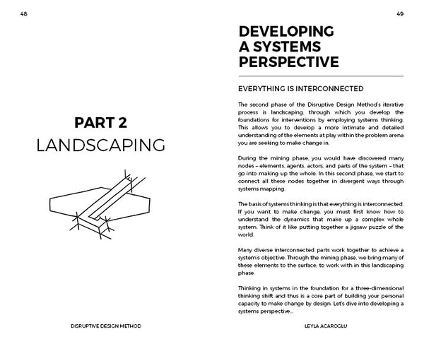 Disruptive Design Method Handbook for Activating Positive Social Change