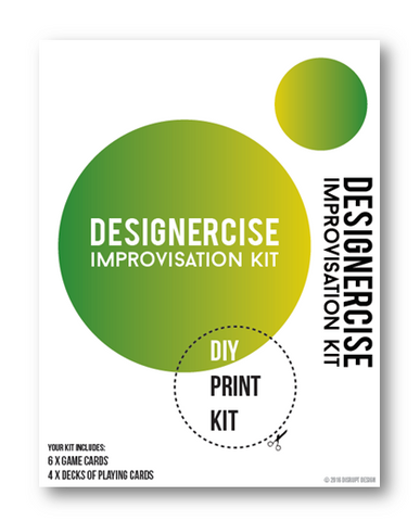 Designercise Improvisation Kit DIY PRINT & PLAY