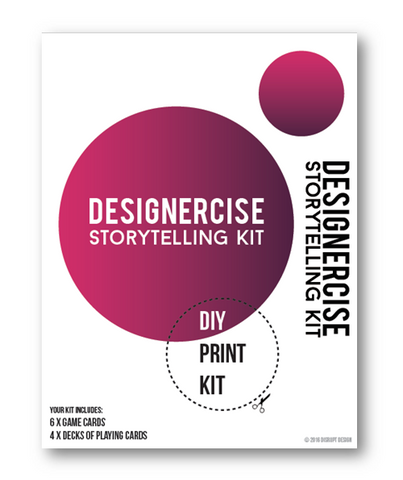 Designercise Storytelling Kit DIY PRINT & PLAY