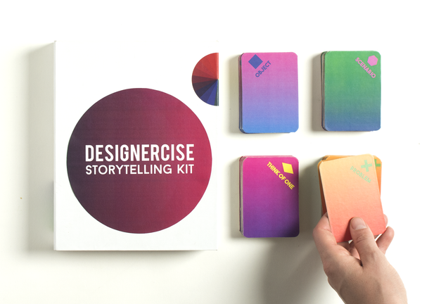 Designercise Storytelling Kit