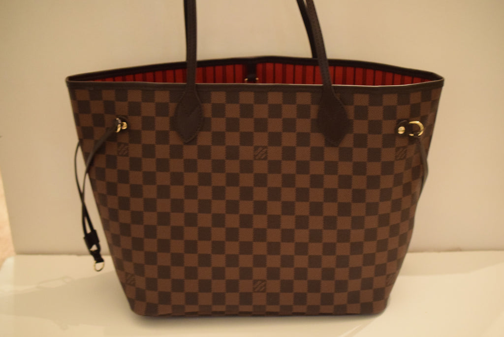 LOUIS VUITTON New Never Worn - Neverfull Mm In - Date Code Ar4185. Made In France. Shoulder Bag