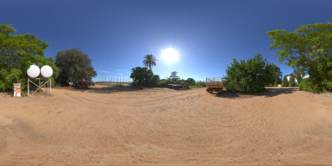 HDRI Pack 26 South Africa Yard 01