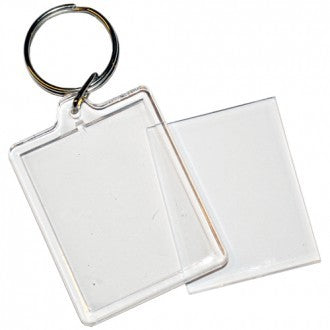 PASSPORT SIZE BLANK KEYRINGS PACKS OF 50