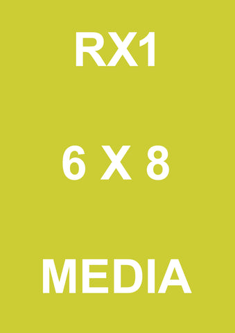 ^ 6 X 8 (152 X 203) RX1 MEDIA 700 IN BOX