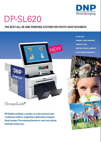 PHOTO KIOSK DNP DP-SL620 SNAPLAB