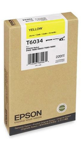 YELLOW  EPSON 7800/7880/9800//9880 220ML INK