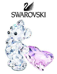 Swarovski Kris Bear with Heart