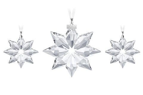 swarovski crystal christmas ornaments set of 3 christmas set 2013 5004492 - Crystal Christmas Decorations