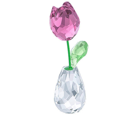 Swarovski Crystal Figurine Flower Dreams PINK TULIP -5254316