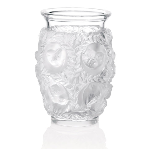 Lalique Vase With Birds Bagatelle 1221900 Zhannel