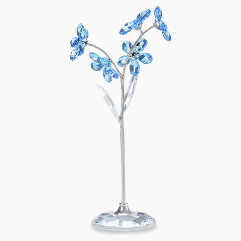Swarovski Crystal Figurine FLOWER DREAMS, FORGET-ME-NOT, Large- 5490754