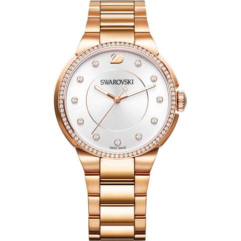 Swarovski CITY CRY WATCH, Rose Gold, Stainless Steel -5181642