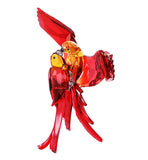Swarovski Color Crystal Paradise Red Parrots Pair of Birds -5136809