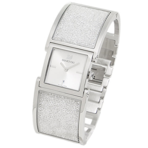 Swarovski Crystal Jewelry CRYSTALLINE BANGLE WATCH Stainless Steel #5027134