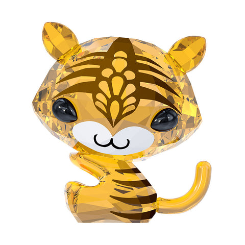 Swarovski Color Crystal Figurine ZODIAC - TORA THE TIGER #5004487