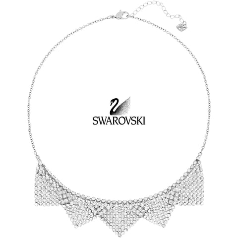 $180 Swarovski Clear Crystal BEST Necklace #5080963 New - Zhannel  - 1