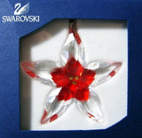 Swarovski Crystal Christmas Figurine Ornament POINSETTIA #5076624 - Zhannel  - 3