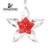 Swarovski Crystal Christmas Figurine Ornament POINSETTIA #5076624 - Zhannel  - 1