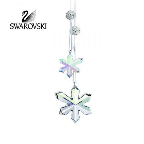 Swarovski Crystal Christmas Figurine Ornament ICE FLOWERS ORNAMENTS #945577 - Zhannel  - 1