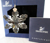 Swarovski Crystal Christmas Figurine Ornament LITTLE SNOWFLAKE ORNAMENT #934706 - Zhannel  - 2