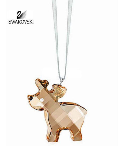 Swarovski Crystal Christmas Figurine Ornament ROBBIE THE REINDEER #1086145 - Zhannel  - 1