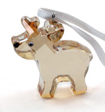 Swarovski Crystal Christmas Figurine Ornament ROBBIE THE REINDEER #1086145 - Zhannel  - 2