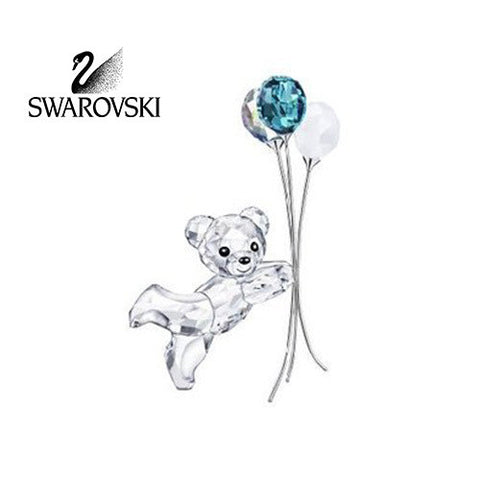Swarovski Crystal Figurine BALLOONS FOR YOU Kris Bear #1016622 - Zhannel  - 1