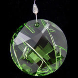 Swarovski Crystal SCS 2008 Bamboo Ornament Green Window Suncatcher #905542 - Zhannel  - 2