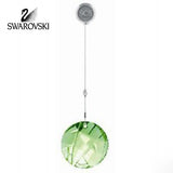 Swarovski Crystal SCS 2008 Bamboo Ornament Green Window Suncatcher #905542 - Zhannel  - 1