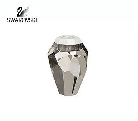 Swarovski Satin Crystal Candle Holder Silex #892545 VERY RARE! - Zhannel  - 1