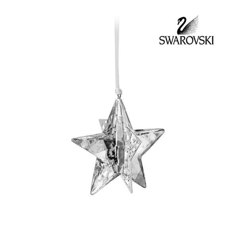 Swarovski MOONLIGHT Crystal Christmas Ornament STAR #1140007 - Zhannel  - 1