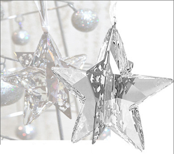 6b1d10ed7 Swarovski MOONLIGHT Crystal Christmas Ornament STAR #1140007 – Zhannel