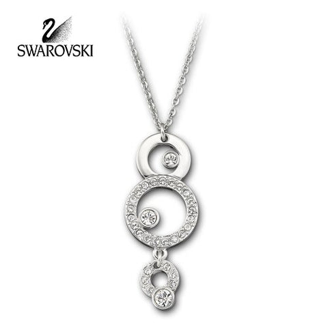 Swarovski Clear Crystal Necklace MASKERADE PENDANT #1062609 - Zhannel  - 1