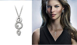 Swarovski Clear Crystal Necklace MASKERADE PENDANT #1062609 - Zhannel  - 5