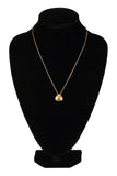 Swarovski Amber Crystal BRIEF PENDANT NECKLACE Golden Shadow #5098369 - Zhannel  - 2