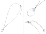 Swarovski Clear Crystal JEWELRY TWISTY PENDANT Necklace #1182706 - Zhannel  - 2