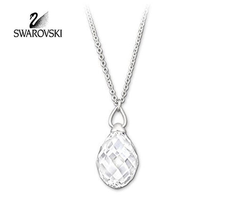 Swarovski Clear Crystal JEWELRY TWISTY PENDANT Necklace #1182706 - Zhannel  - 1