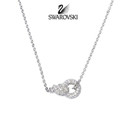 Swarovski Clear Crystal JEWELRY NATHALIE Pendant Necklace #1080288 - Zhannel  - 1