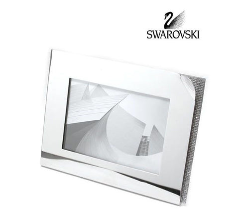 "Swarovski Clear Crystal Picture Frame AMBIRAY LARGE 5""x 7""Photo Frame #1096440 - Zhannel  - 1"