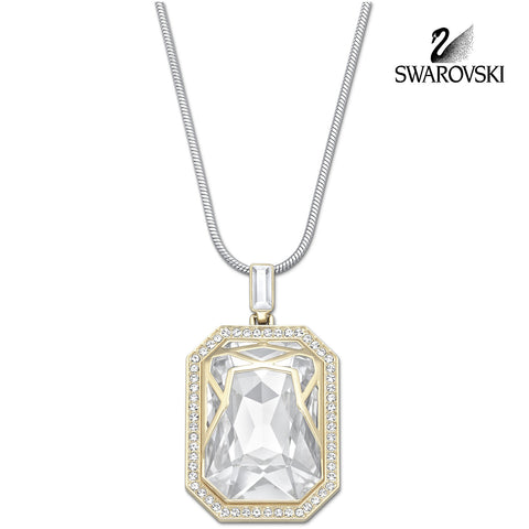 Swarovski Clear Crystal Jewelry AFTERNOON Pendant Necklace #5038218 - Zhannel  - 1